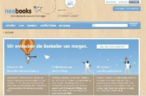 Homepage www.neobooks.com