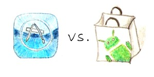 AppStore versus Android Market