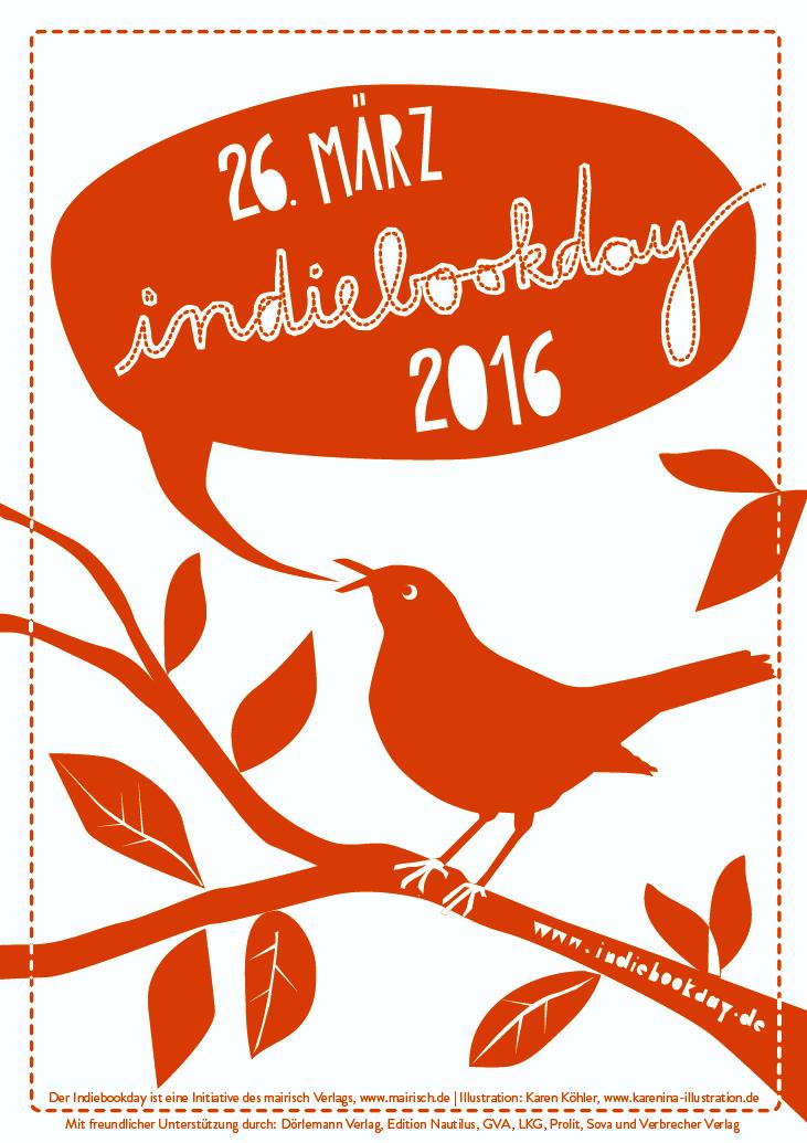Plakat Indiebookday